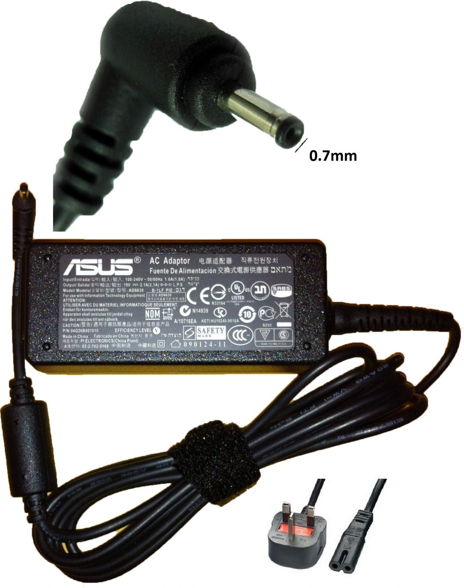 Asus 1008Ha Eee Pc Charger