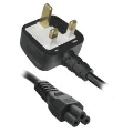 Clover 3 pin power cable UK