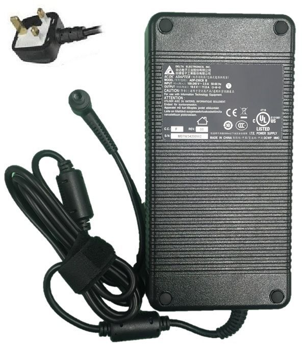 AC Adapter Power Supply Charger for MSI Gaming Laptop GT80 2QD Titan SLI